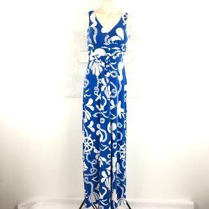 Lilly Pulitzer Sz XS Sloane Maxi Sleeveless Dress